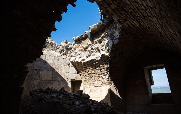 Syria bắt đầu phục chế lâu đài Krak des Chevaliers gần Homs - Sputnik Việt Nam