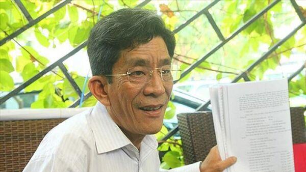 Ông Lê Văn Lung, người dân Thủ Thiêm - Sputnik Việt Nam