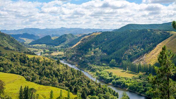 Пейзаж Новой Зеландии - Sputnik Việt Nam