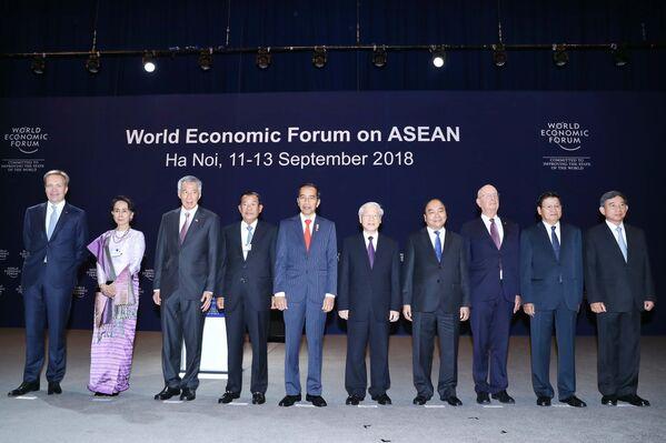 WEF ASEAN 2018: Phiên khai mạc toàn thể - Sputnik Việt Nam
