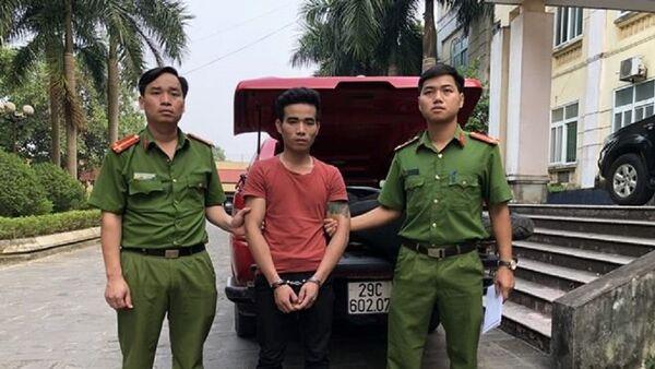 Nghi phạm Lương Văn Dư. - Sputnik Việt Nam