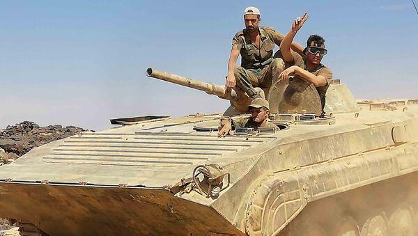 Quân đội Syria đã đánh bật tàn dư của những kẻ khủng bố ở phía nam đất nước - Sputnik Việt Nam