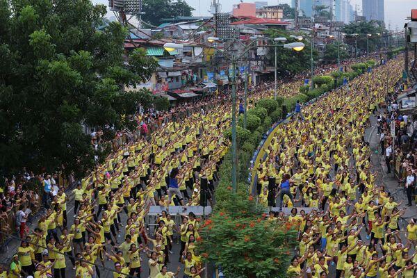 Ngày 19 tháng 7 năm 2015, 12.975 người ở ngoại ô Manila đến lớp Zumba và lập kỷ lục thế giới. - Sputnik Việt Nam