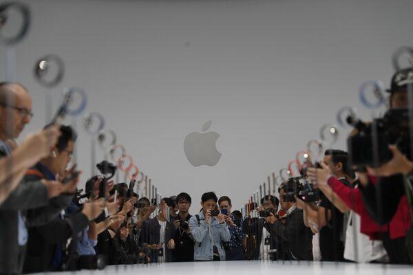 Buổi lễ giới thiệu sản phẩm mới của Apple - Sputnik Việt Nam