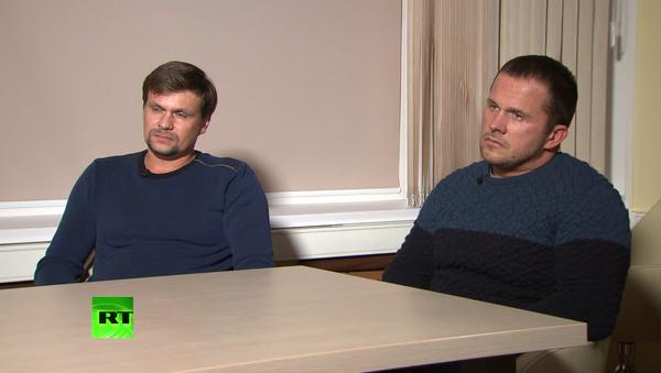 Петров и Боширов в интервью Симоньян - Sputnik Việt Nam