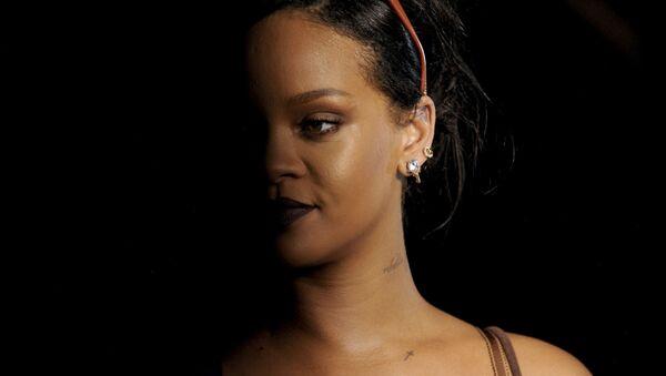 Rihanna tại buổi giới thiệu bộ sưu tập nội y mới Savage x Fenty - Sputnik Việt Nam