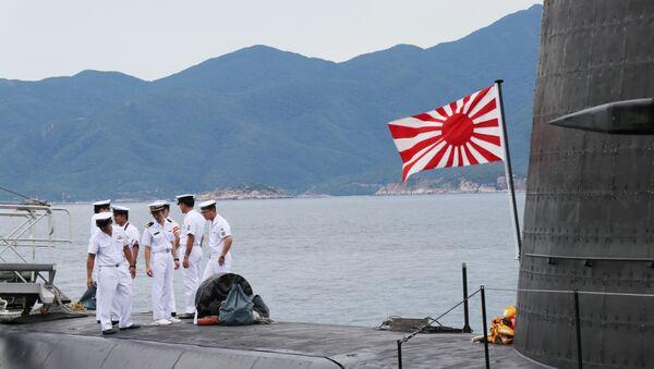 Tàu ngầm huấn luyện Lực lượng Tự vệ trên biển Nhật Bản thăm Việt Nam - Sputnik Việt Nam