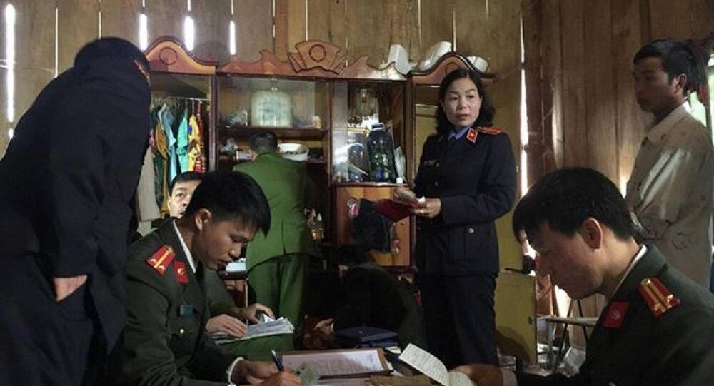 Công an khám nhà Đèo Văn Ban, tháng 11/2017