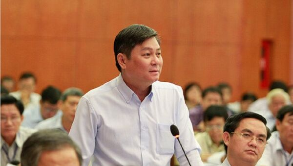 Ông Đào Anh Kiệt nguyên Giám đốc Sở Tài nguyên và Môi trường TP.HCM. - Sputnik Việt Nam