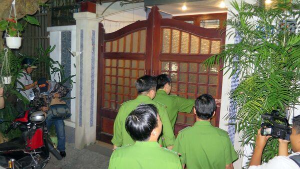 Cơ quan công an khám nhà ông Đào Tấn Bằng - Sputnik Việt Nam