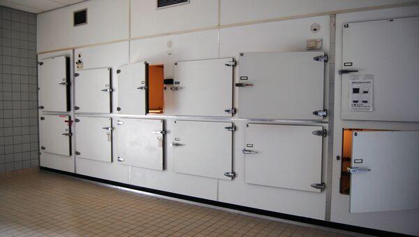 tủ lạnh nhà xác - Sputnik Việt Nam