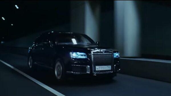Aurus công bố clip quảng cáo cho xe sedan mới nhất của Nga Senat - Sputnik Việt Nam