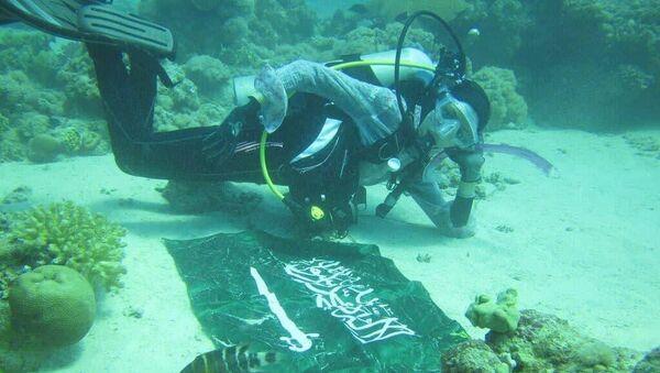Người phụ nữ Ảrập Xêút lặn biển đã ghi danh mình vào Sách Kỷ lục Guinness - Sputnik Việt Nam