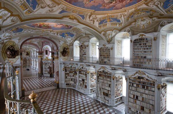 Thư viện tu viện Admonte ở Áo - Sputnik Việt Nam
