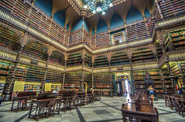 Thư viện Hoàng gia Bồ Đào Nha ở Rio de Janeiro - Sputnik Việt Nam