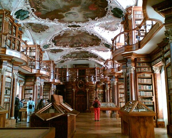 Thư viện Tu viện St. Gall ở Thụy Sĩ - Sputnik Việt Nam