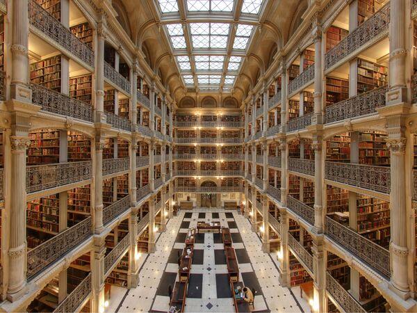 Thư viện George Peabody ở Baltimore - Sputnik Việt Nam