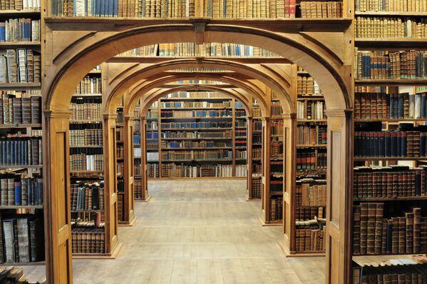 Thư viện Khoa học tiếng Thượng Lusatian ở Gorlitz, Đức - Sputnik Việt Nam
