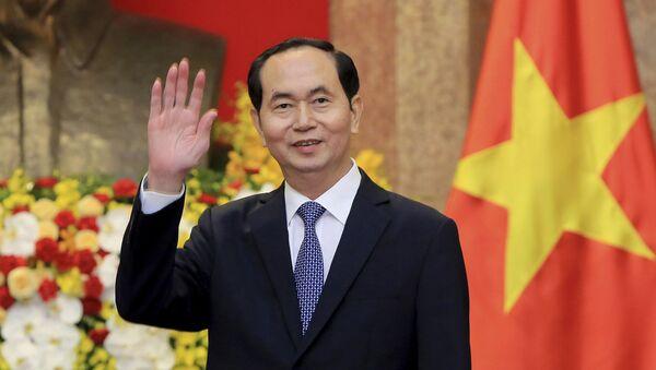 Chủ tịch nước Việt Nam Trần Đại Quang - Sputnik Việt Nam