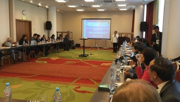"""Hội thảo quốc tế """"Thực trạng tại Biển Đông – các biện pháp giải quyết tranh chấp khả thi"""" diễn ra ở Moscow từ 20 - 22/9/2018 - Sputnik Việt Nam"""