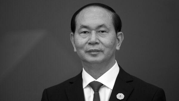 Chủ tịch nước của Việt Nam Trần Đại Quang - Sputnik Việt Nam