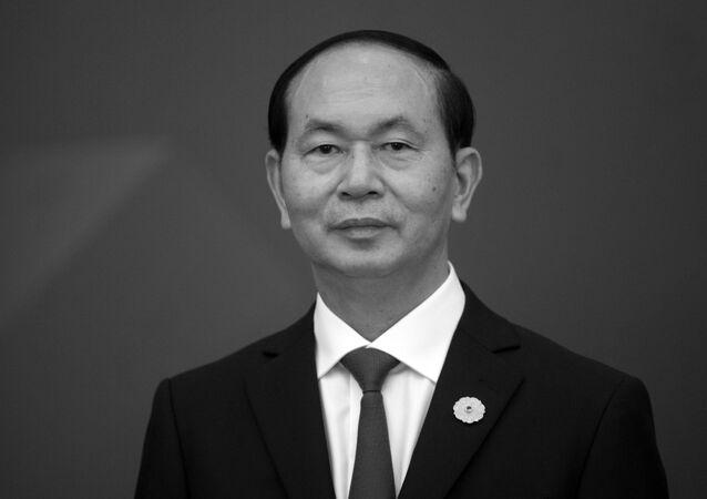 Chủ tịch nước của Việt Nam Trần Đại Quang