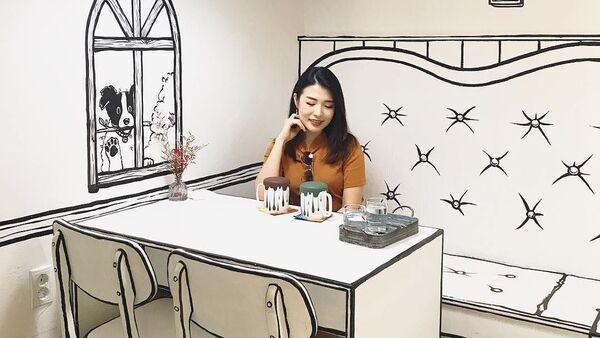 """""""Nhà hàng hoạt họa"""" ở Seoul - Sputnik Việt Nam"""