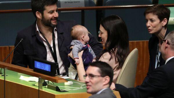Đại hội đồng LHQ lần đầu tiên có trẻ em tham dự - Sputnik Việt Nam