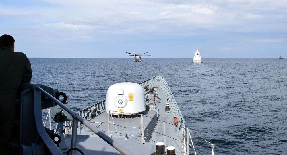 Cuộc tập luyện chung của Hải quân Ukraina và tàu chiến NATO ở Biển Đen