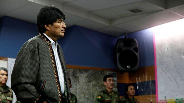 Evo Morales - Sputnik Việt Nam