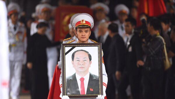 Di ảnh Chủ tịch Trần Đại Quang - Sputnik Việt Nam