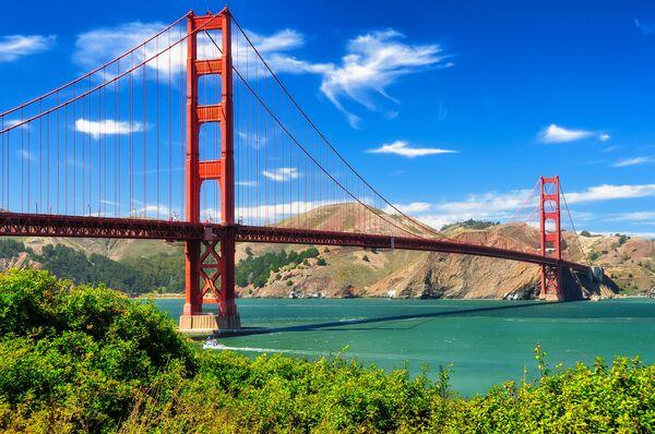 Cầu Cổng Vàng ở San Francisco, Hoa Kỳ - Sputnik Việt Nam