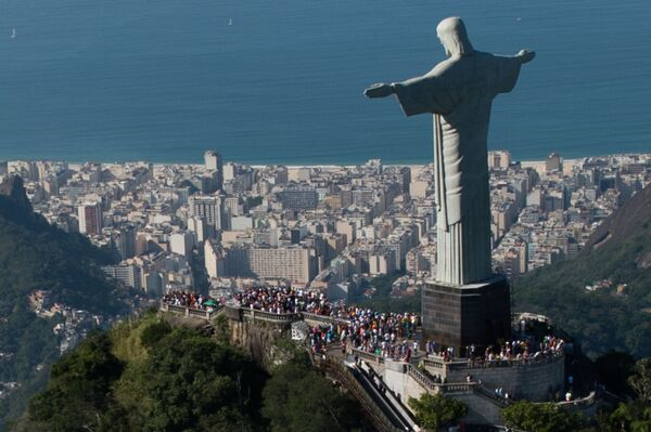 Tượng Chúa Cứu Thế ở Rio de Janeiro, Braxin - Sputnik Việt Nam