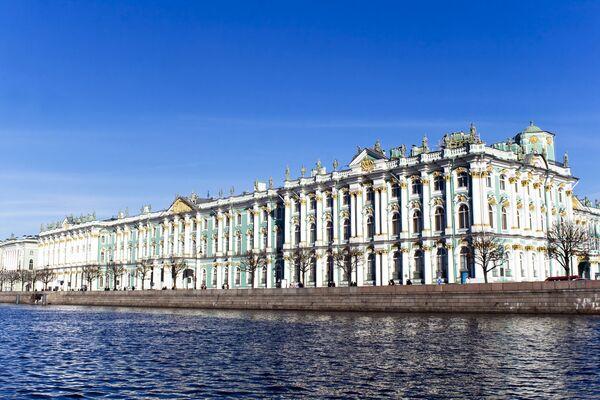 Cảnh Cung điện Mùa đông ở St. Petersburg - Sputnik Việt Nam
