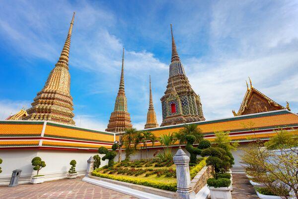 Đền Phật nằm (Wat Pho) ở Bangkok, Thái Lan - Sputnik Việt Nam