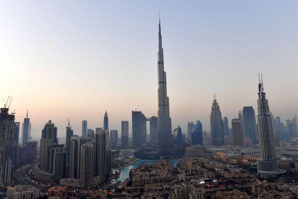 Cao ốc chọc trời Burj Khalifa cao nhất thế giới ở Dubai - Sputnik Việt Nam