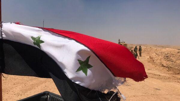 Сирийские войска на границе с Иорданией в провинции Дераа - Sputnik Việt Nam