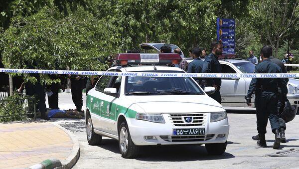 Police at the scene - Sputnik Việt Nam
