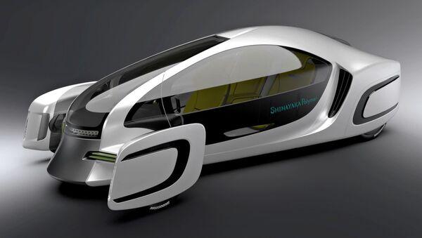 Nhật Bản giới thiệu một chiếc xe hơi 90% làm bằng nhựa - Sputnik Việt Nam