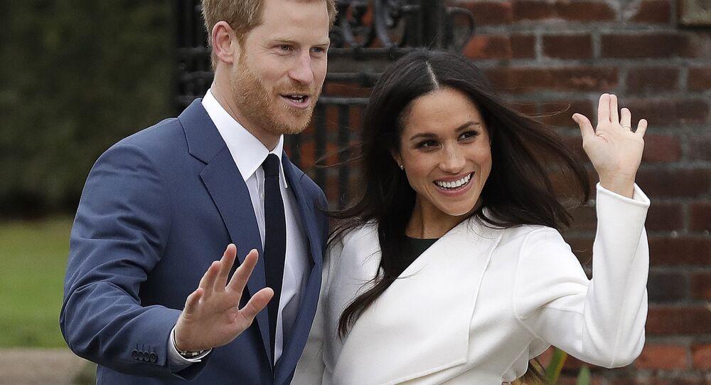 Meghan Markle và Hoàng tử Harry