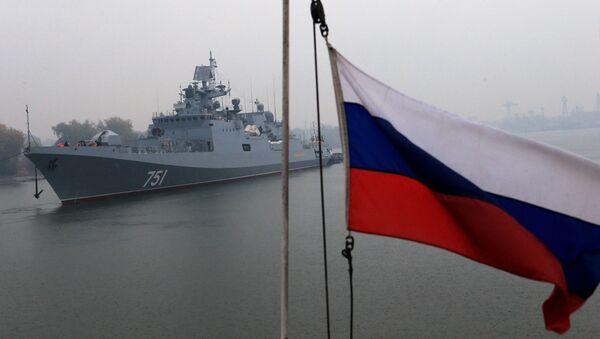 Tàu khu trục hạm Nga Đô đốc Essen - Sputnik Việt Nam