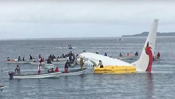 Có 4 công dân Việt Nam trong vụ máy bay lao thẳng xuống biển tại Micronesia - Sputnik Việt Nam