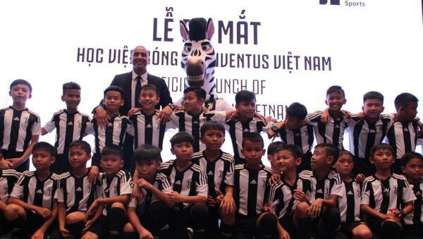 Ra mắt Học viện bóng đá Juventus Việt Nam - Sputnik Việt Nam