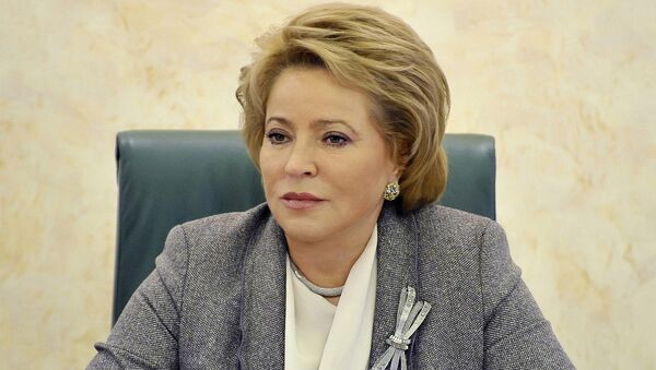 Valentina Matvienko - Sputnik Việt Nam