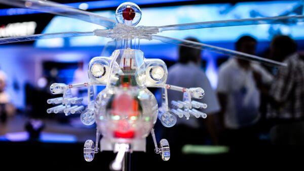 """Gian hàng triển lãm của tập đoàn Công nghệ vô tuyến điện tử"""" ở Triển lãm Hàng không và Vũ trụ Quốc tế MAKS-2015 ở Zhukovsky - Sputnik Việt Nam"""