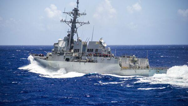 USS Mustin  - Sputnik Việt Nam