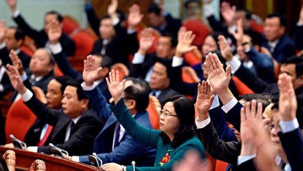 Hội nghị T.Ư 8 dự kiến sẽ ban hành quy định mới về trách nhiệm nêu gương của cán bộ, đảng viên, nhất là ủy viên Bộ Chính trị, Ban Bí thư, ủy viên T.Ư Đảng - Sputnik Việt Nam