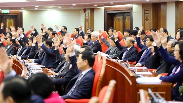 Khai mạc Hội nghị lần thứ tám Ban Chấp hành Trung ương Đảng Cộng sản Việt Nam khóa XII - Sputnik Việt Nam