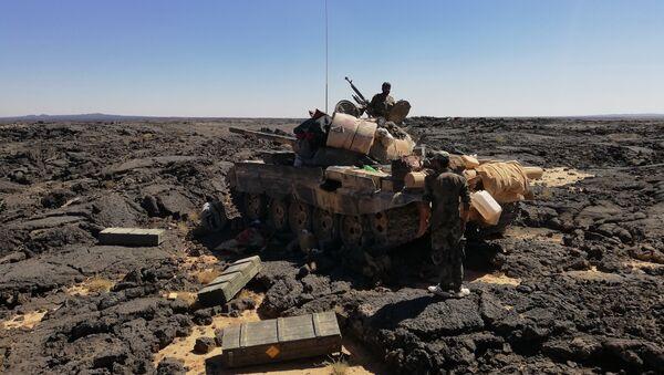 Quân đội Syria cắt đứt nguồn sống của phiến quân trong sa mạc al-Suweida - Sputnik Việt Nam