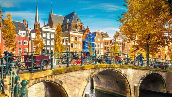 Вид на осенний Амстердам - Sputnik Việt Nam